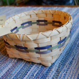 Handwoven Berry Basket