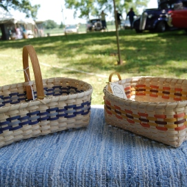 A Market Basket and a Table Basket