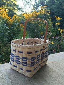 Handwoven Tote Basket