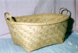 Handwoven Quilt Basket
