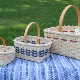 Assorted sizes of Market Baskets